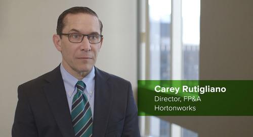 Customer Testimonial: Carey Rutigliano, Hortonworks