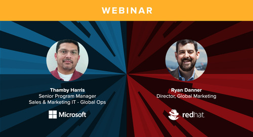 Microsoft & Red Hat: Two Very Different Journeys to Marketing ROI