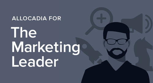 Allocadia for the Marketing Leader