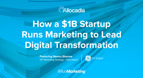 How a $1B Startup Runs Marketing to Lead Digital Transformation