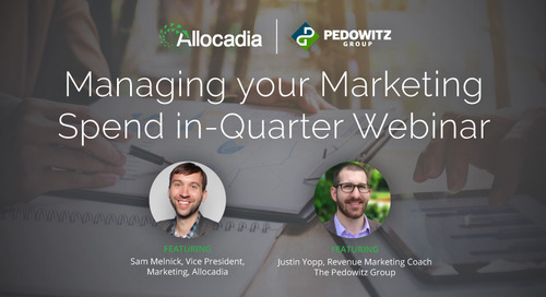 Managing Your Marketing Spend In-Quarter
