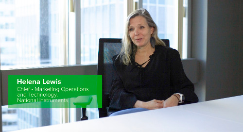 Customer Testimonial: Helena Lewis, National Instruments
