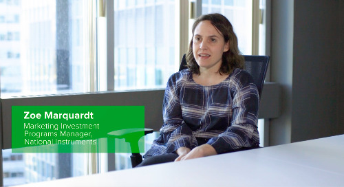 Customer Testimonial: Zoe Marquardt, National Instruments