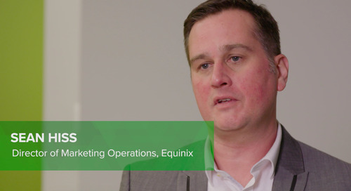 Customer Testimonial: Sean Hiss, Equinix