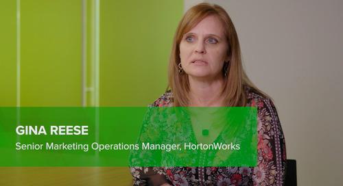 Customer Testimonial: Gina Reese, Hortonworks