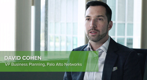 Customer Testimonial: David Cohen, Palo Alto Networks