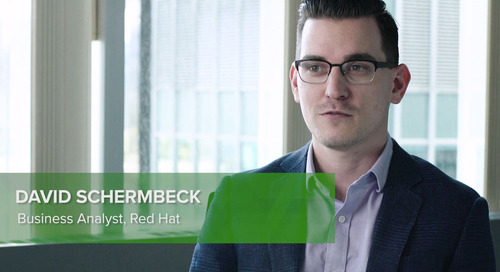 Customer Testimonial: David Schermbeck, Red Hat