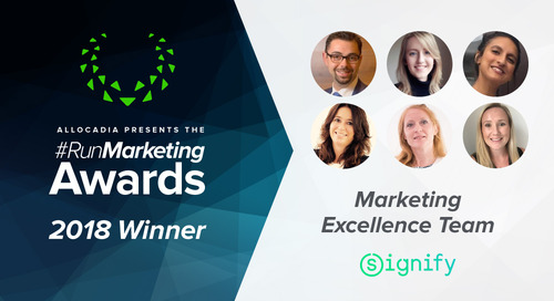 Signify's Marketing Excellence Team