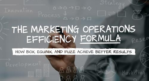 The Marketing Operations Efficiency Formula