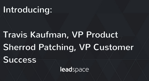 Leadspace Announces High-Profile Hires To Continue Leadership in B2B Predictive Analytics