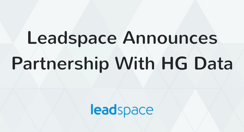 HG Data and Leadspace Partner to take Predictive Analytics and Sales Funnel Analysis to a New Level
