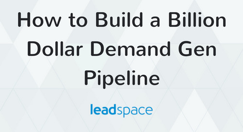 Leadspace, DataStax to Demonstrate How to Build a Billion Dollar Pipeline with Social-Powered Demand Gen at Dreamforce 2014