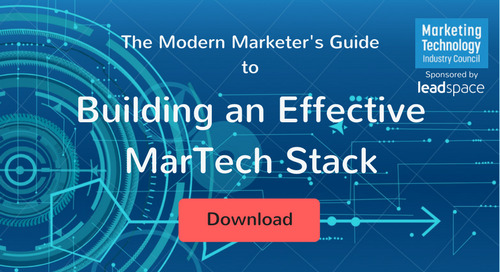 The Modern Marketer's Guide to Building an Effective MarTech Stack