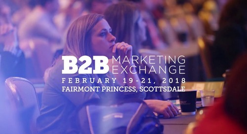 Join Leadspace at B2B Marketing Exchange 2018!