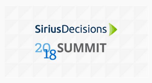 SiriusDecisions 2018 Summit (Las Vegas)