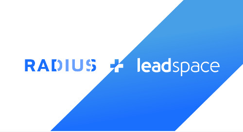 Leadspace Joins Radius Brand; Set to Disrupt B2B Data Intelligence Ecosystem