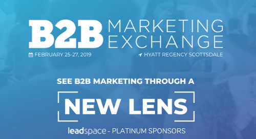 B2B Marketing Exchange - February 2019