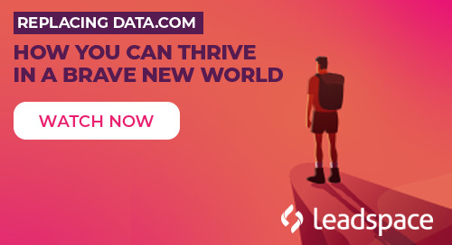 Replacing Data.com - How You Can Thrive in a Brave New World