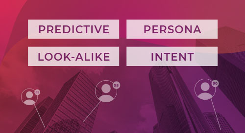 Your 4-Step Scoring Program for ABM Success: Predictive, Persona, Lookalike & Intent