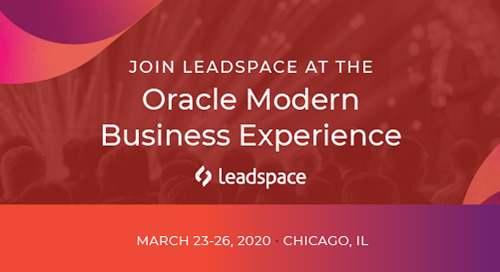 Oracle Modern Business Experience - March 23-26