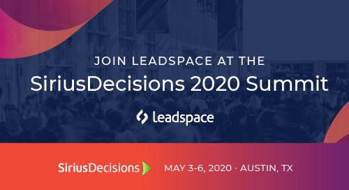 SiriusDecisions 2020 Summit - May 2020