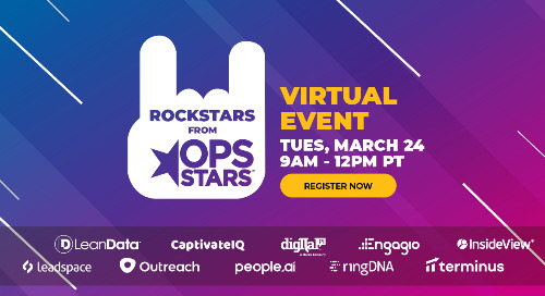 Rockstars from OpsStars Virtual Event - March 24