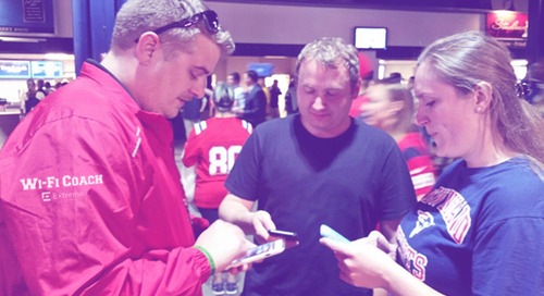 Wi-Fi Coaches Enhance Fans' Game Day Experience