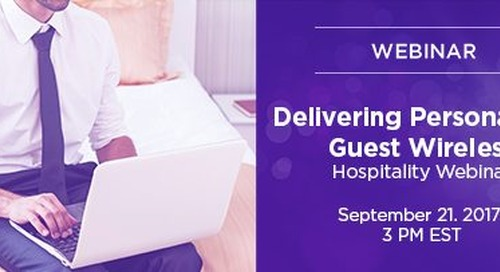 Delivering Personalized Guest Wireless
