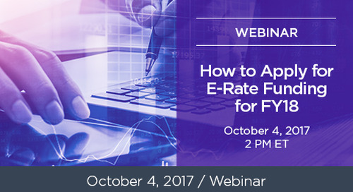 How to Apply for E-Rate Funding 2018