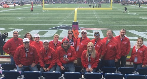 Fans Stay Connected on Game Day at Gillette Stadium