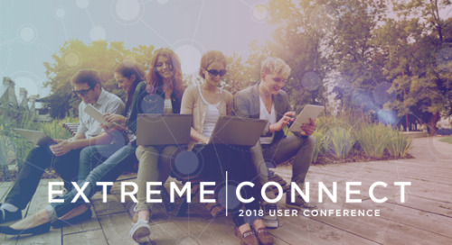 Announcing the Education Birds of a Feather Session with Ryan Turner at Extreme Connect 2018