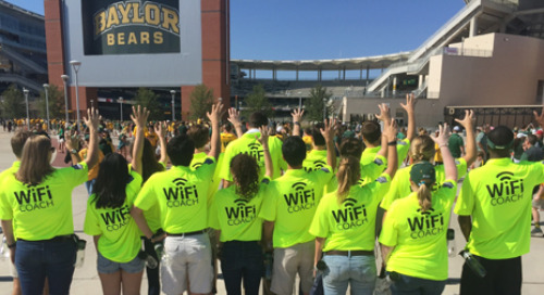 Whom Do the Baylor Bears Fans Ask About the Wi-Fi at Football and Basketball Games? Here are Insights From the Head Wi-Fi Coach