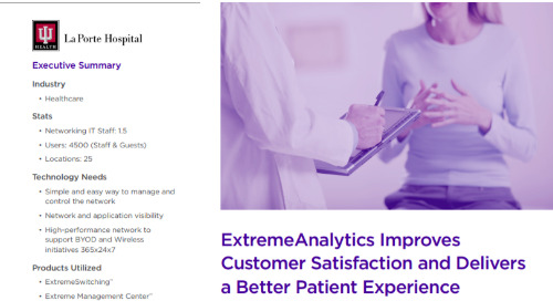 ExtremeAnalytics Improves Customer Satisfaction and Delivers a Better Patient Experience