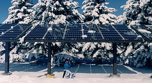 Werken zonnepanelen ook in de winter?
