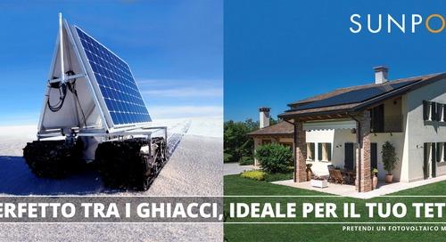 Il fotovoltaico testato dalla NASA sul vostro tetto