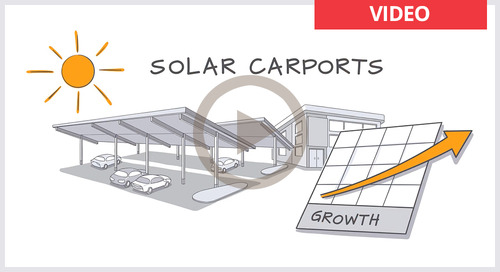 Learn about solar carports and solar canopies