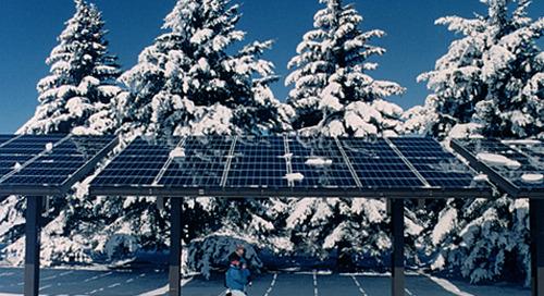 I pannelli fotovoltaici funzionano anche in inverno?
