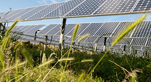 Pannelli fotovoltaici puliti come l'energia che producono