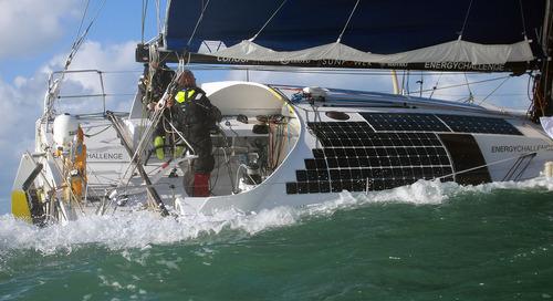 De Energy Challenge - volledig emissievrij winnen op zee