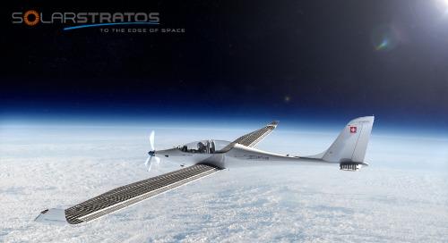 To the edge of space op zonne-energie: elektrisch zonnevliegtuig SolarStratos maakt het waar