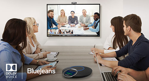 BlueJeans and Dolby Transform the Meeting Experience with Immersive Sound at the Touch of a Button