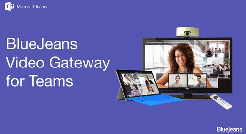 BlueJeans Teams with Microsoft to Add Greater Value to Customers