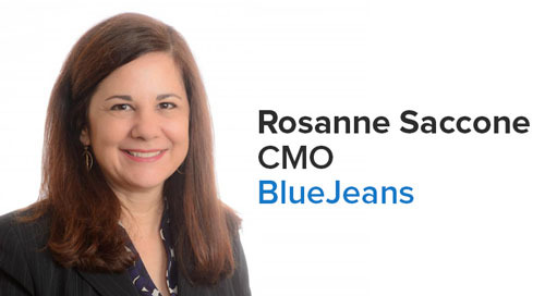 Rosanne Saccone Joins BlueJeans as CMO