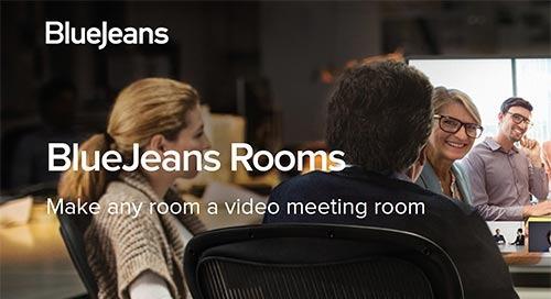 BlueJeans Rooms Data Sheet