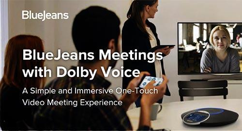 BlueJeans Meetings Data Sheet