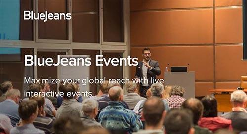 BlueJeans Events Data Sheet