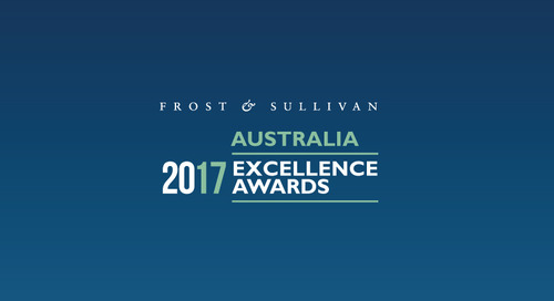 BlueJeans Awarded 2017 Frost & Sullivan Australian Cloud Video Growth Excellence Leadership Award