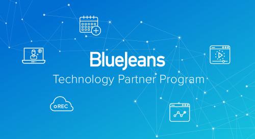 BlueJeans Makes APIs Available via New Technology Partner Program