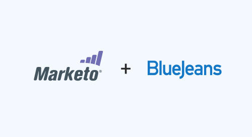 Make Webinars Easy with BlueJeans Events, Now with Marketo