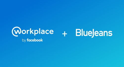 Easy, One-Click BlueJeans Meetings for Workplace by Facebook